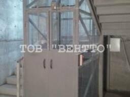 Подвальный лифт грузовой
