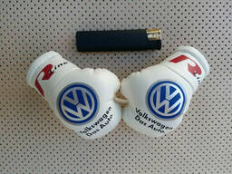 Подвеска (боксерские перчатки) Volkswagen R-LINE White