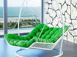 Подвесная ротанговая мебель для двоих большая кровать подвесная