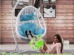 Подвесное кресло кокон Komfort белое