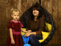 Підвісне крісло кокон в дитячу спальню купити
