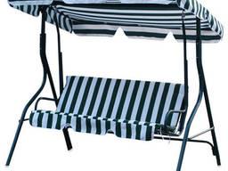 Подвесной диванчик садовый 170х115х157 см