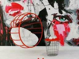 Подвесной шар из металла кресло