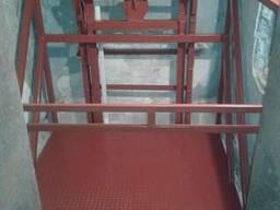 Подъёмник грузовой в готовую шахту