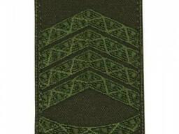 Погон на липучке / муфте нового образца Главный сержант (олива)