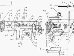 Погорузчик ЕВ 687. Командоконтроллер S730 с503.
