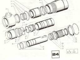 Погрузчик ЕВ 717. Цилиндр телескопический устройства Н=4, 5м.