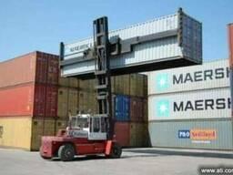 Погрузчик контейнерный со спредером Kalmar
