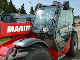 Погрузчик Manitou MT 735 LSU Turbo, 2008 год выпуска