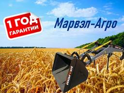 Фронтальный погрузчик КУН на трактор МТЗ, ЮМЗ, Т-40