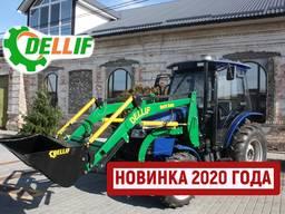 Погрузчик на трактор ДТЗ - Деллиф Бейби 800 с джойстиком