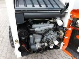 Погрузчик с бортовым разворотом Bobcat 751, полная кабина - фото 5