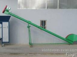 Погрузчик (шнек) для зерна 8 тонн/час, 5 метров 1, 5кВт, 380B