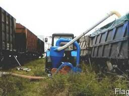Погрузка и разгрузка зерна ЖД-вагоны по Украине - фото 2