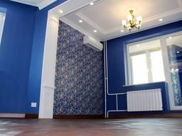 Покраска потолков комнат квартир офисов Шпаклевка