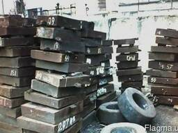 Поковка стальная прямоугольная сталь 45