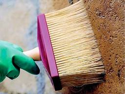 Покраска бетонного забора Запорожье. Цветные заборы