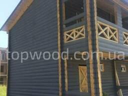 Окосячка окон, дверей в деревянных домах из бруса, сруба