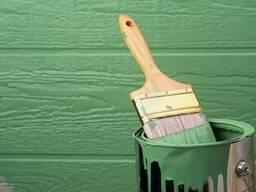 Покраска деревянного забора: Покраска еврозабора.