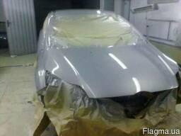 Покраска капота автомобиля