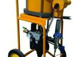 Покрасочный агрегат с пневматическим приводом, 76:1