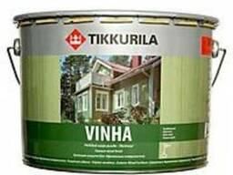 Tikkurila покрытия для дерева (срубы, бани, сауны)