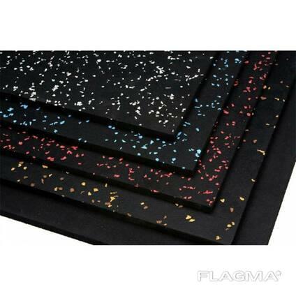 Резиновое напольное покрытие для гаража (10мм)