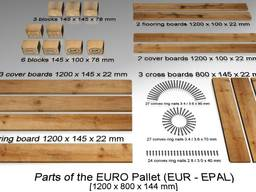 Покупаю комплект заготовки для евро поддона