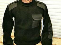 Полицейский свитер вязанный, продажа формы охранника