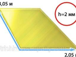 Поликарбонат монолитный прозрачный бронза Monogal 2 мм.