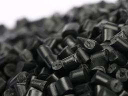 Полипропилен регранулят черный литьевой