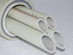 Поліпропіленова труба армована алюмінієм KrasPipe German STD PPR/Al/PPR ф63х7,0мм