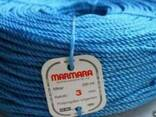Полипропиленовая веревка крученая Мармара д.3 мм, длина 200 - фото 1