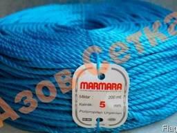 Полипропиленовая веревка Marmara 5мм, длина 200 метров