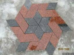 Полированая плитка из натурального камня, гранит