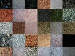 Полированные изделия из бетона, Гранит