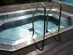 Полировка нержавейки нержавеющей стали для бассейнов