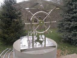 Полировка нержавейки элементов декора из нержавеющей стали