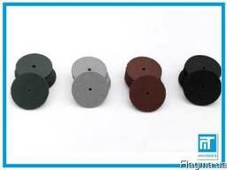 Полировочные резиновые кружки 4 шт. для гравера / дремель