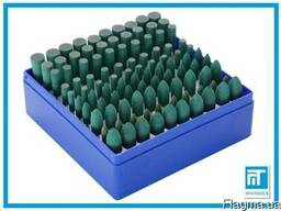Полировочные резиновые насадки 10 шт для гравера / дремель