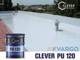 Полиуретановая гидроизоляция Clever Pu 120 (5 кг)
