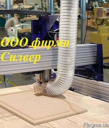 Гофрорукав ПУ армированный д. 250мм для стружки ЧПУ