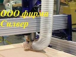 Гофрорукав ПУ армированный д. 305мм для стружки ЧПУ