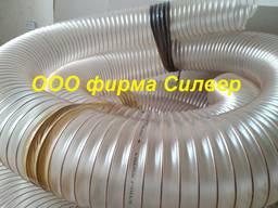 Полиуретановые воздуховоды для удаление пыли, стружки, опилок, щепы