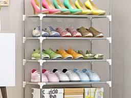 Полка для обуви 5 ярусов - стеллаж для обуви