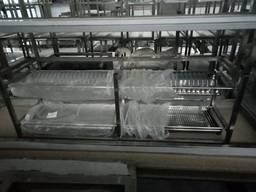Полка сушка для посуды из нержавеющей стали 560*300*400
