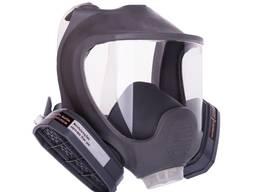 Полнолицевая маска с двумя фильтрами аналог 3М 6700, 6800, 6