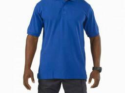 Поло тактическое с коротким рукавом 5.11 Tactical Professional Polo синее