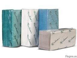 Рушники паперові листові Z 23х25 зелені 170арк