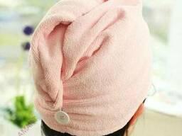 Полотенце - тюрбан для волос из микрофолокна